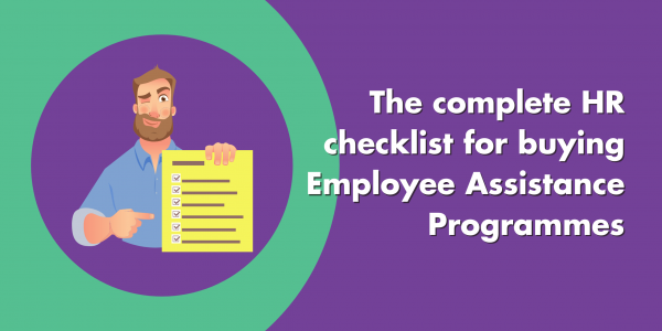 HR Checklist Employee Assistance Programmes