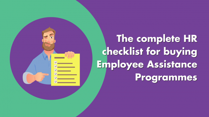 HR Checklist Employee Assistance Programmes